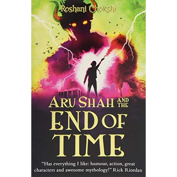 Aru Shah and the End of Time  Paperback / softback 2018