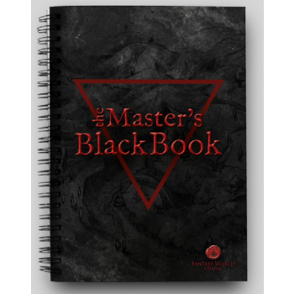 The Masters Black Book: Fantasy World Creator