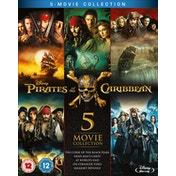 Pirates of the Caribbean 1-5 Boxset Blu-ray