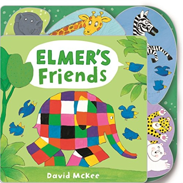 Elmer's Friends Tabbed Board Book Board book 2018