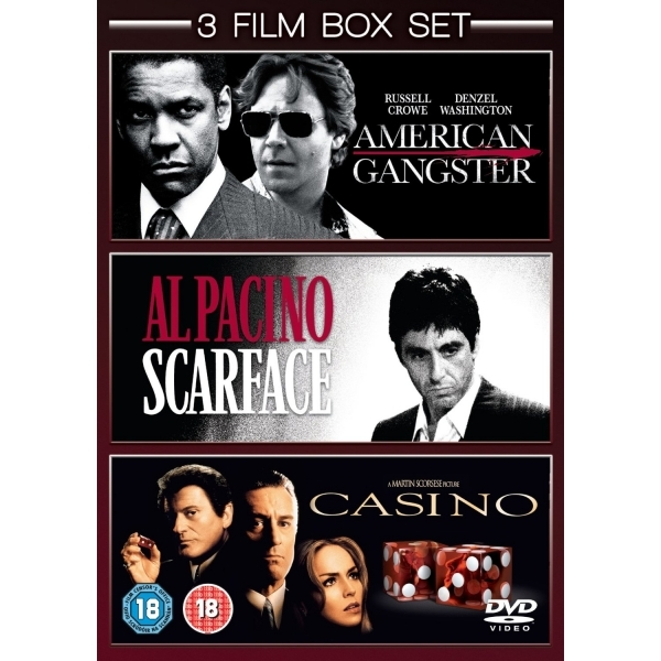 Scarface Casino American Gangster DVD