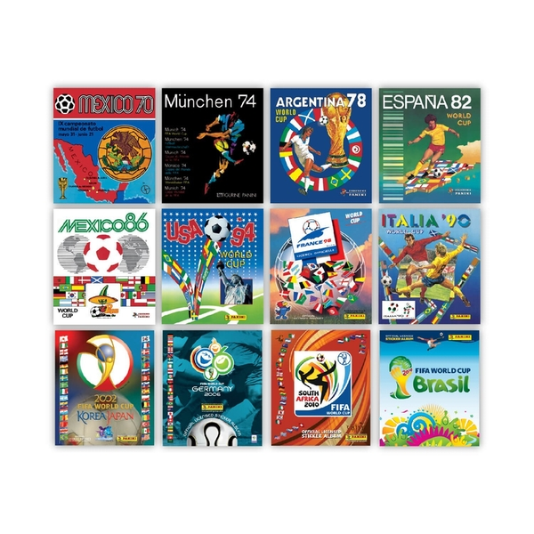 298454c9c Panini Heritage FIFA World Cup Football Sticker Collection Lithographic  Prints - Limited Edition - Image 5