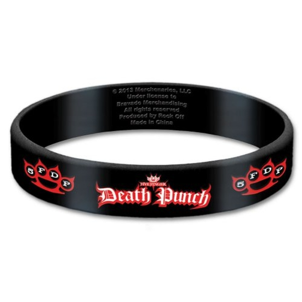 Five Finger Death Punch - Logo Gummy Wristband