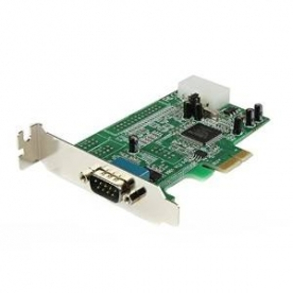 Image of 1 Port Low Profile Native RS232 PCI Express Serial Card with 16550 UART