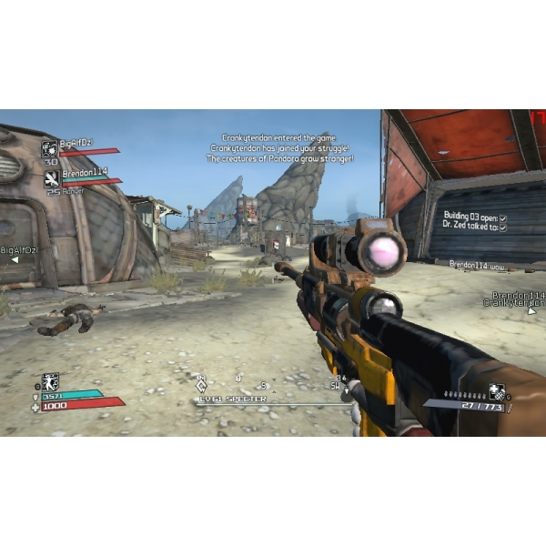 Borderlands Game Of The Year (GOTY) Edition Game (Classics) Xbox 360 - Image 3