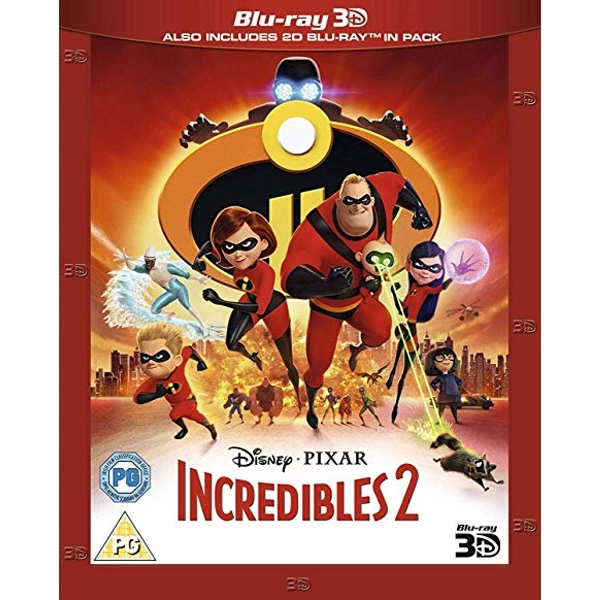 Incredibles 2 3D Blu-Ray