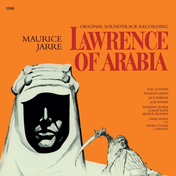 Maurice Jarre - Lawrence Of Arabia Limited Transparent Red  Vinyl