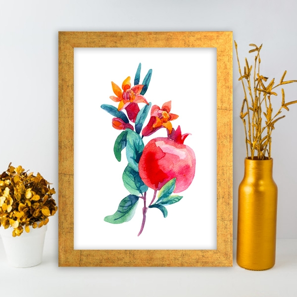 AC4173931452 Multicolor Decorative Framed MDF Painting