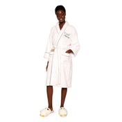 Harry Potter Hedwig ladies Sparkly Adult Fleece Robe