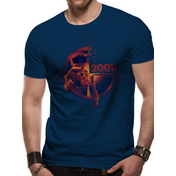 2001 Space Odyssey - Human Error Men's Small T-Shirt - Blue