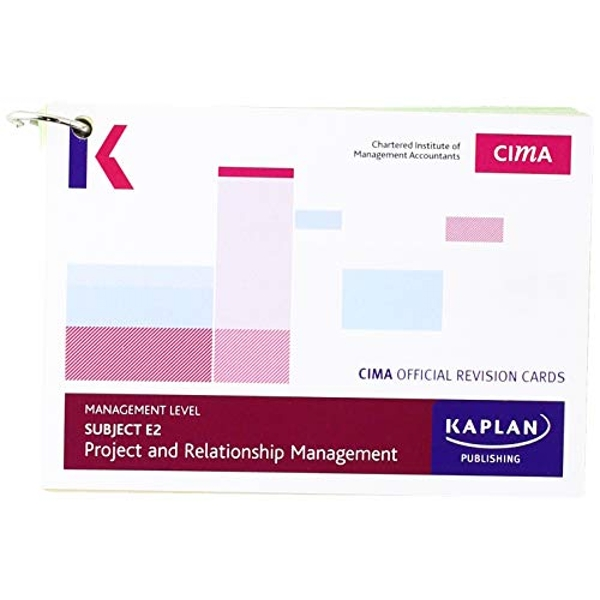 E2 PROJECT AND RELATIONSHIP MANAGEMENT - REVISION CARDS by KAPLAN PUBLISHING (Paperback, 2017)