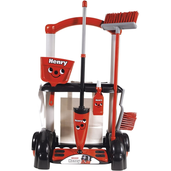 Henry Cleaning Trolley Childrens Playset