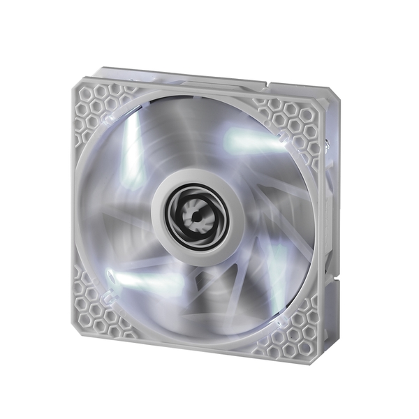 BitFenix Spectre PRO 120mm Fan White LED - white
