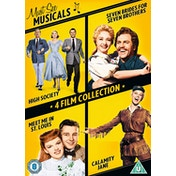 Must See Musicals: High Society / Seven Brides For Seven Brothers / Meet Me In St Louis / Calamity Jane DVD