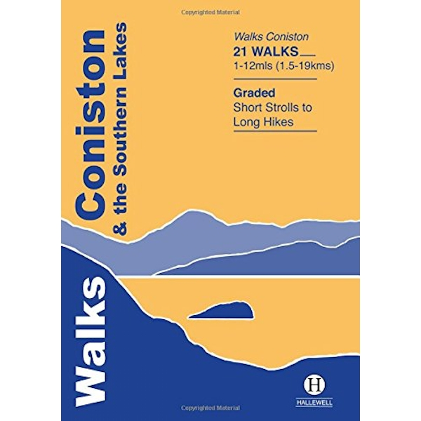 Walks Coniston and the Southern Lakes by Richard Hallewell (Paperback, 2003)