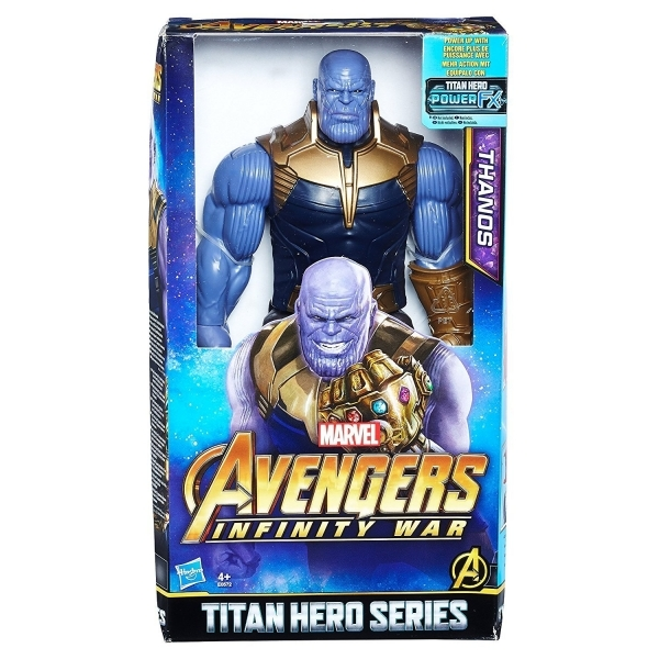 Ex-Display The Avengers Marvel Infinity War Titan Hero Series Thanos with  Power FX Port Figure Used - Like New