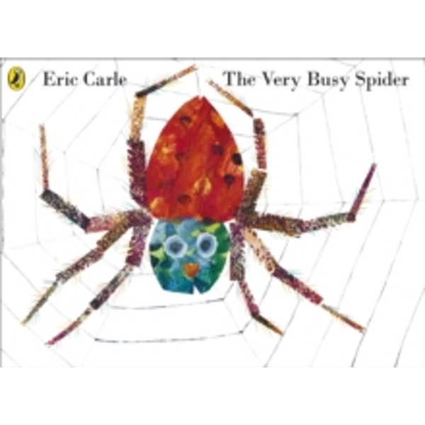 The Very Busy Spider by Eric Carle (Paperback, 2011)
