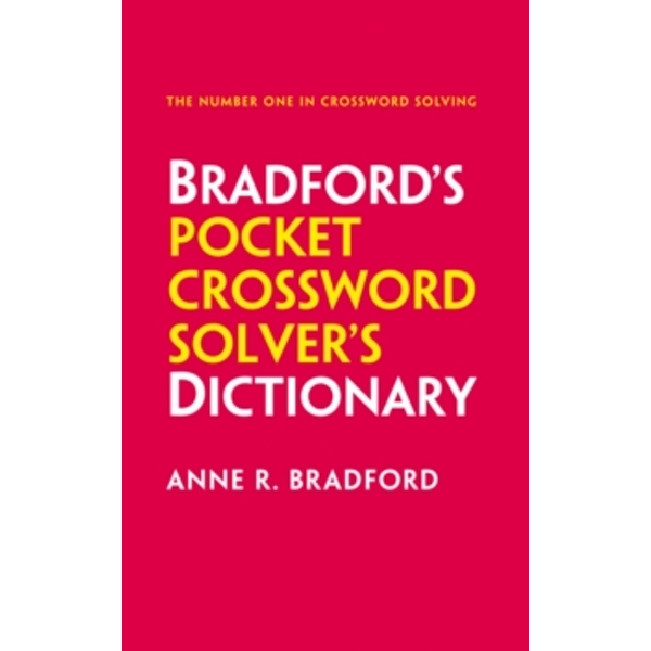 Collins Bradford's Pocket Crossword Solver's Dictionary : Over 125,000 Solutions in an A-Z Format