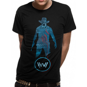 Westworld - Blue Man Men's Large T-Shirt - Black