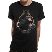 Crimes Of Grindelwald - Nifflers Men's X-Large T-Shirt - Black