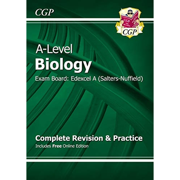 Nenew A-Level Biology: Edexcel A Year 1 & 2 Complete Revision & Practice with Online Edition: Exam Board: Edexcel A (Salters-Nuffield) by CGP Books (Paperback, 2015)