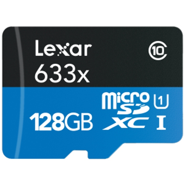 Compare retail prices of 128GB Lexar 633x HS microSDXC UHS I C10 with Adapter to get the best deal online