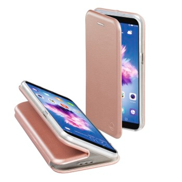 "Hama ""Curve"" Booklet for Huawei P Smart, rose gold"
