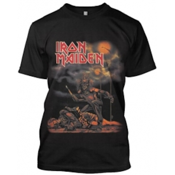 Iron Maiden Sanctuary Mens Black TShirt: Small