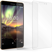 Nokia 6 (2018) Glass Screen Protector (Twin Pack) - Clear