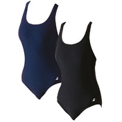 SwimTech Splashback Black Swimsuit Junior - 24 Inch