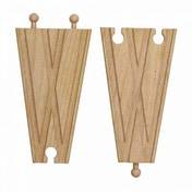 Wooden Railway Switch Track 2 Pieces