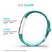 Yousave Activity Tracker Single Strap - Cyan (Small) - Image 6