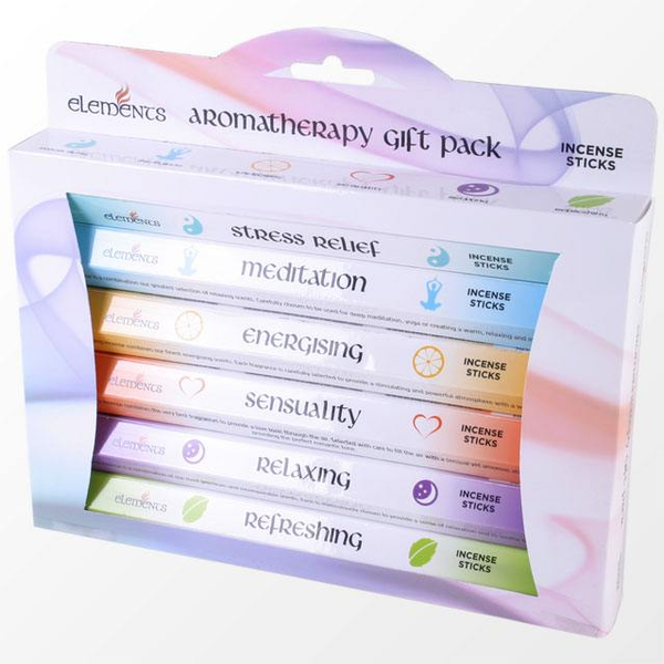 Elements Aromatherapy Fragrances Incense Stick Gift Pack