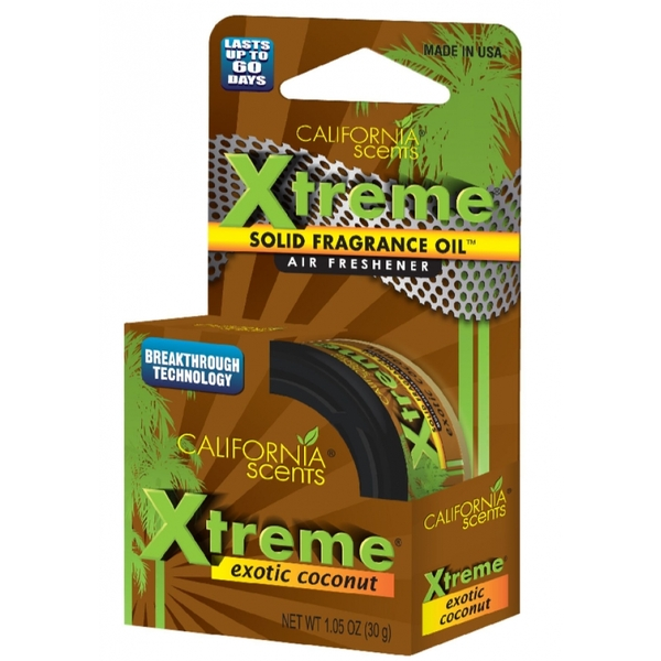 California Scents Xtreme Exotic Coconut Car/Home Air Freshener - Image 2