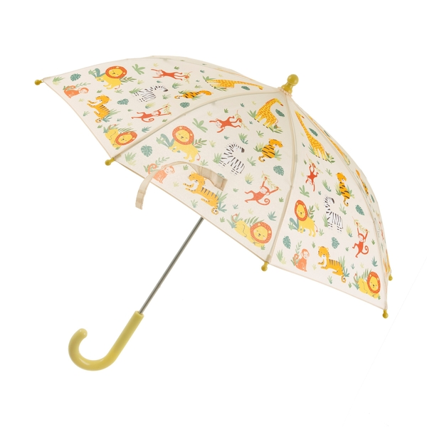 Sass & Belle Savannah Safari Kids Umbrella - Image 1