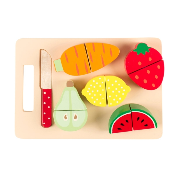 Sass & Belle Let's Play Fruit And Veg Chopping Board Set