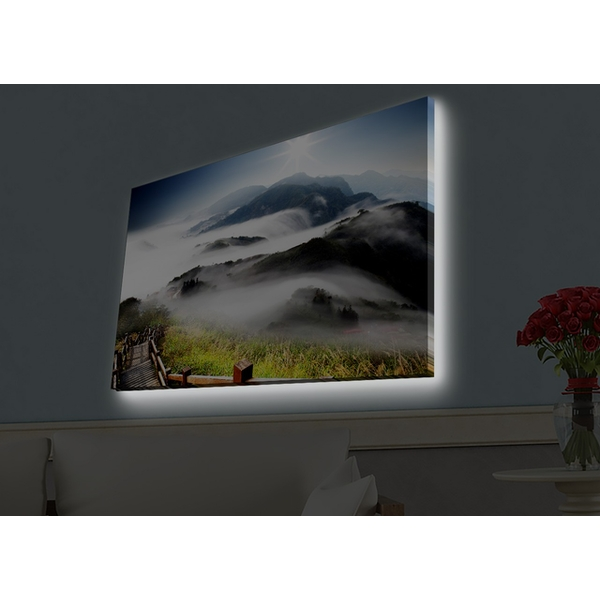 4570HDACT-080 Multicolor Decorative Led Lighted Canvas Painting