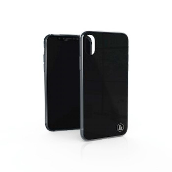 """Hama """"Glass"""" Cover for Apple iPhone X, black"""