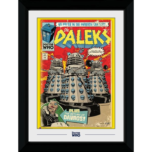 Doctor Who Dalek Comic Collector Print