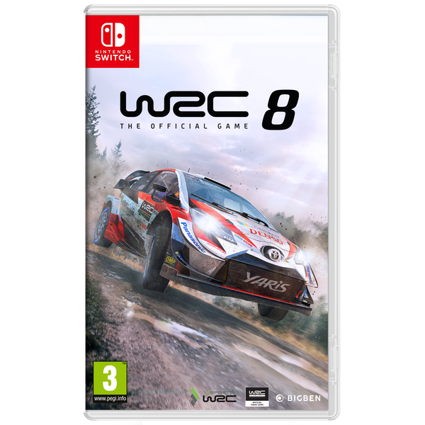 WRC 8 Nintendo Switch Game - Image 1