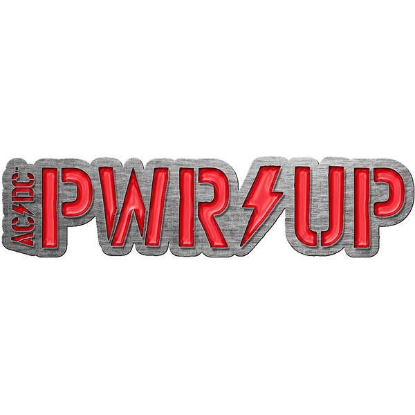AC/DC - PWR-UP Pin Badge