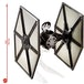 First Order TIE Fighter (Star Wars) Hot Wheels Elite Diecast Ship - Image 2