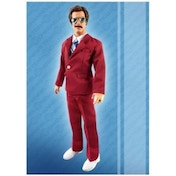 Anchorman 13-Inch Retro-Style Talking Ron Burgundy Action Figure