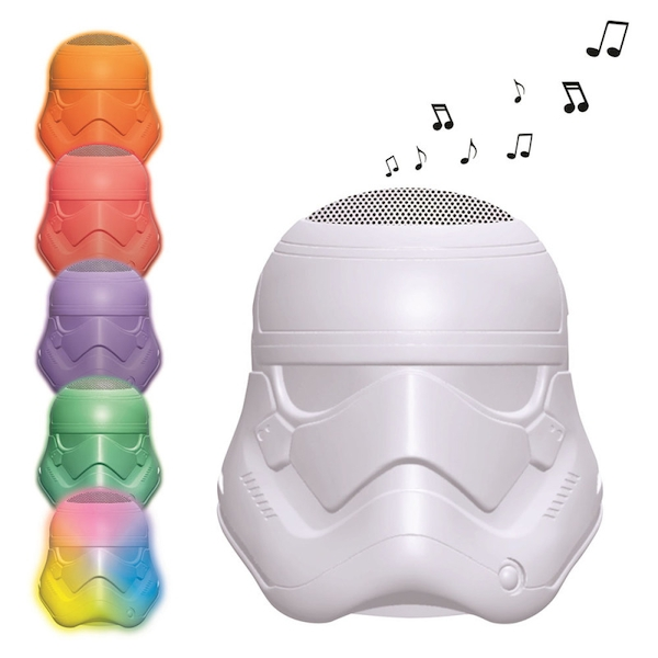 Lexibook BTL710SW Star Wars Stormtrooper Bluetooth Speaker with Lights