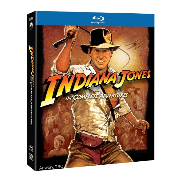 Indiana Jones Quadrilogy The Complete Adventures Blu-ray