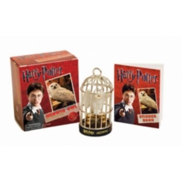 Harry Potter Hedwig Owl Kit and Sticker Book by Running Press (Mixed media product, 2010)