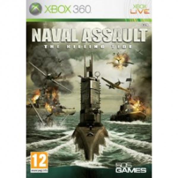 Naval Assualt The Killing Tide Game Xbox 360