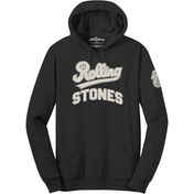The Rolling Stones - Team Logo & Tongue Men's X-Large Pullover Hoodie - Black