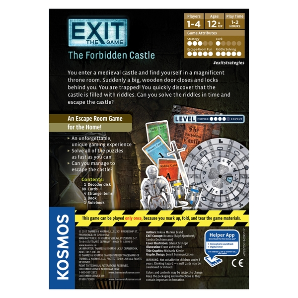 Exit: The Forbidden Castle Board Game - Image 3