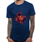 2001 Space Odyssey - Unisex Large Human Error T-Shirt (Navy)
